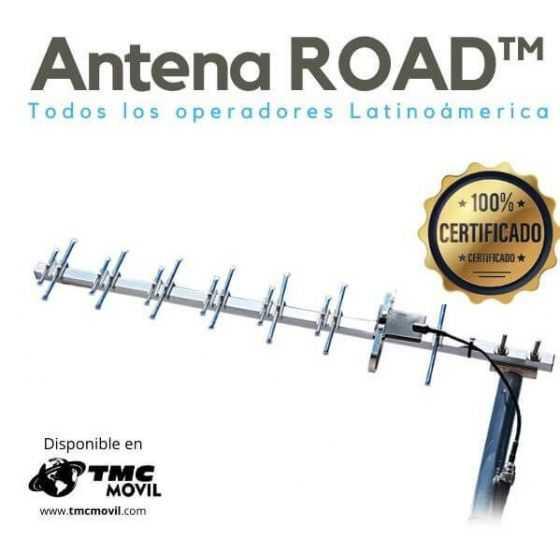 Antena Yagi ROAD™ 850-1990MHz - 50OHM Compatible Modems de Internet & Equipos Telemetria
