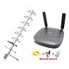 KIT Combo Antena Amplificadora de Señal ROAD™ MiniPRO TMC Movil® + Enrutador Simcard Homologado MF275U x2 Antenas 5dBi
