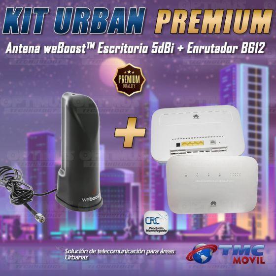 KIT Antena Amplificadora De Señal Weboost de escritorio Con Enrutador Huawei B612