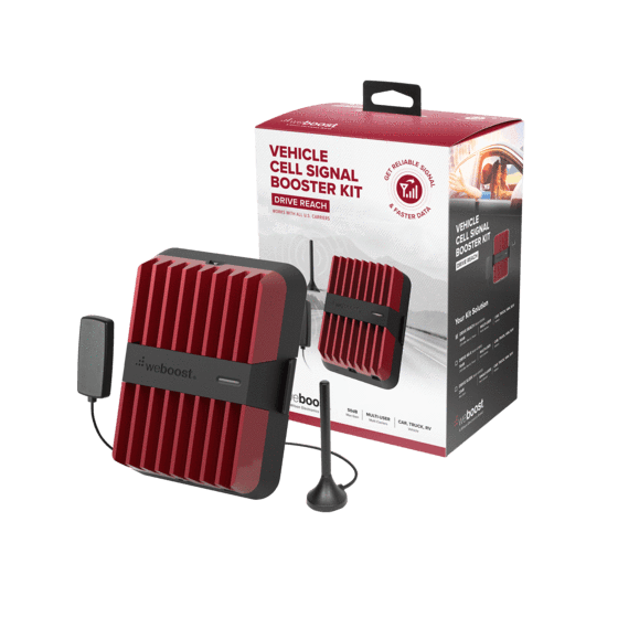 KIT Amplificador de señal WeBoost Drive Reach - Vehiculos