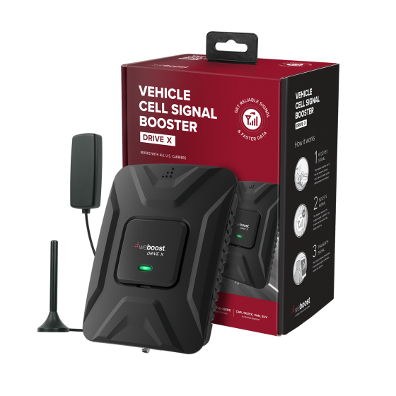 KIT Amplificador de señal WeBoost Drive 4G- X para Vehiculos