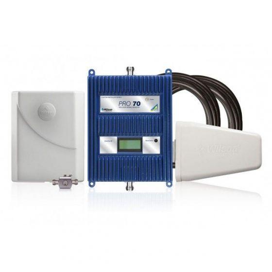 KIT Amplificador de señal Wilson Pro 70 (50 Ohm) Repotenciado COL - Empresas