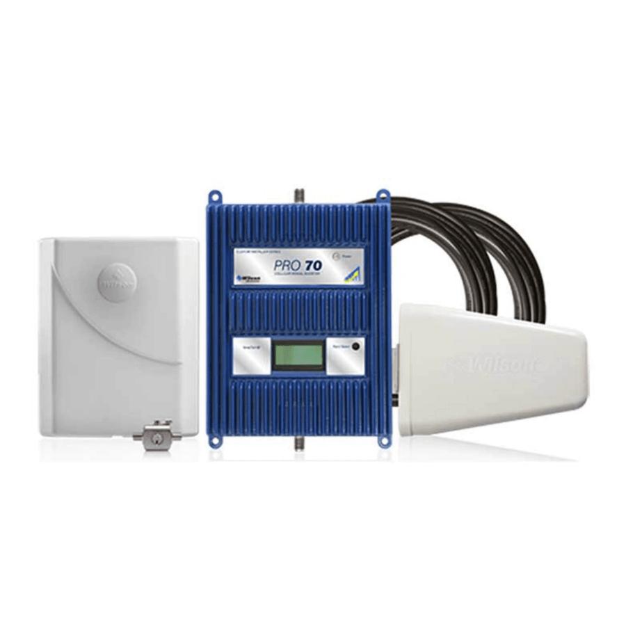KIT Amplificador de señal Wilson Pro 70 (75 Ohm) Repotenciado COL - Empresas