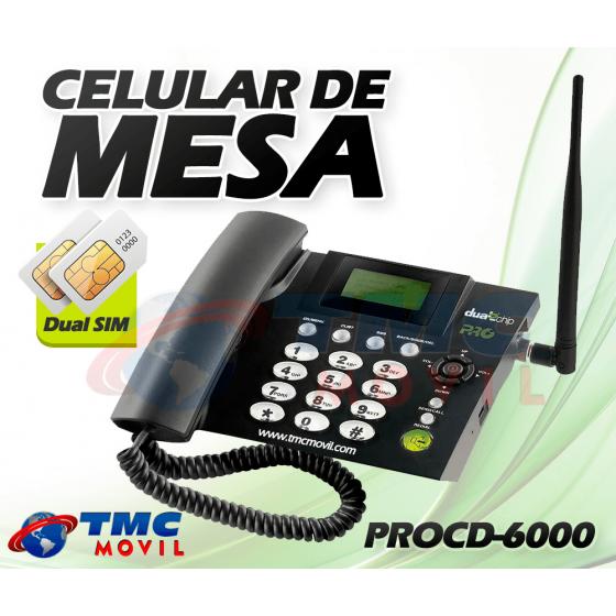 Planta telefónica PRO Electronics Doble SIMCARD Homologada + Batería de respaldo