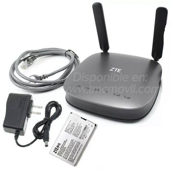 ZTE MF275R - Modem de Internet Simcard 4GLTE 2G 3G - Libre Todo Operador  + x2 Antenas Omnidireccionales 5dBi