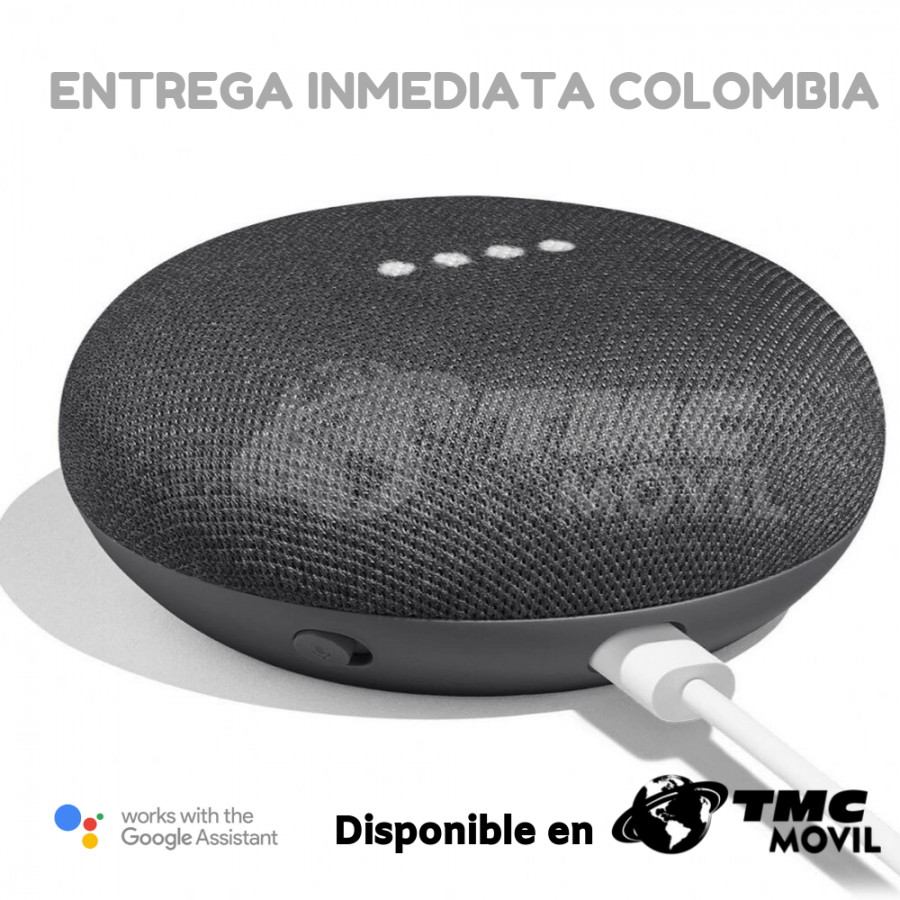 Parlante/Bocina Inteligente Google Home Mini Español Latinoamerica