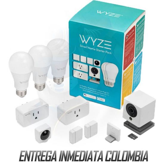 Kit Wyze Smart Home Accesorios Inteligentes Domótica Google Home, Amazon Alexa & IFTTT