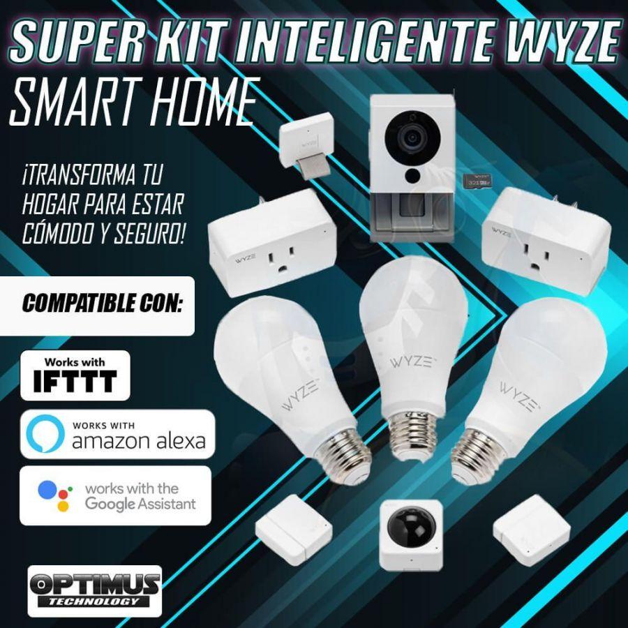 Kit Wyze Smart Home Accesorios Inteligentes Domótica Google Home, Amazon Alexa & IFTTT