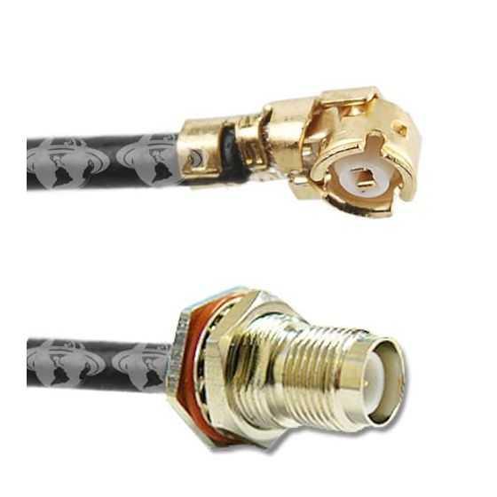 Conector Pigtail U.FL a TNC-H