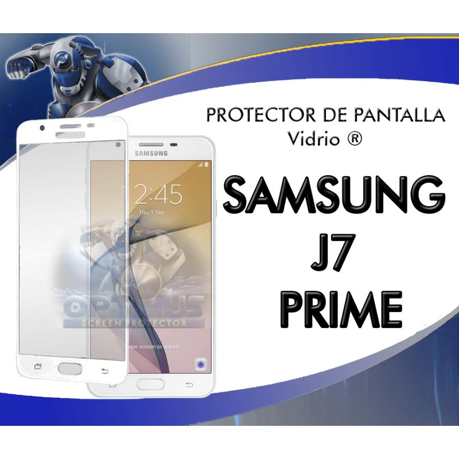 Vidrio Templado Completo Samsung J7 Prime