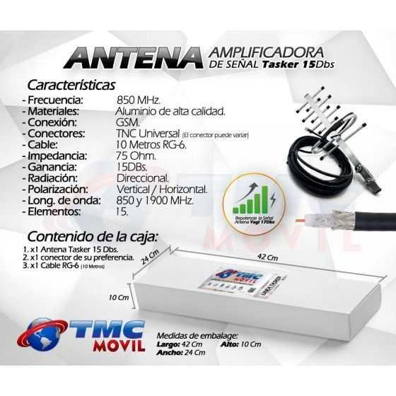 Antena Yagi Aérea TasKer-15™ 15DB