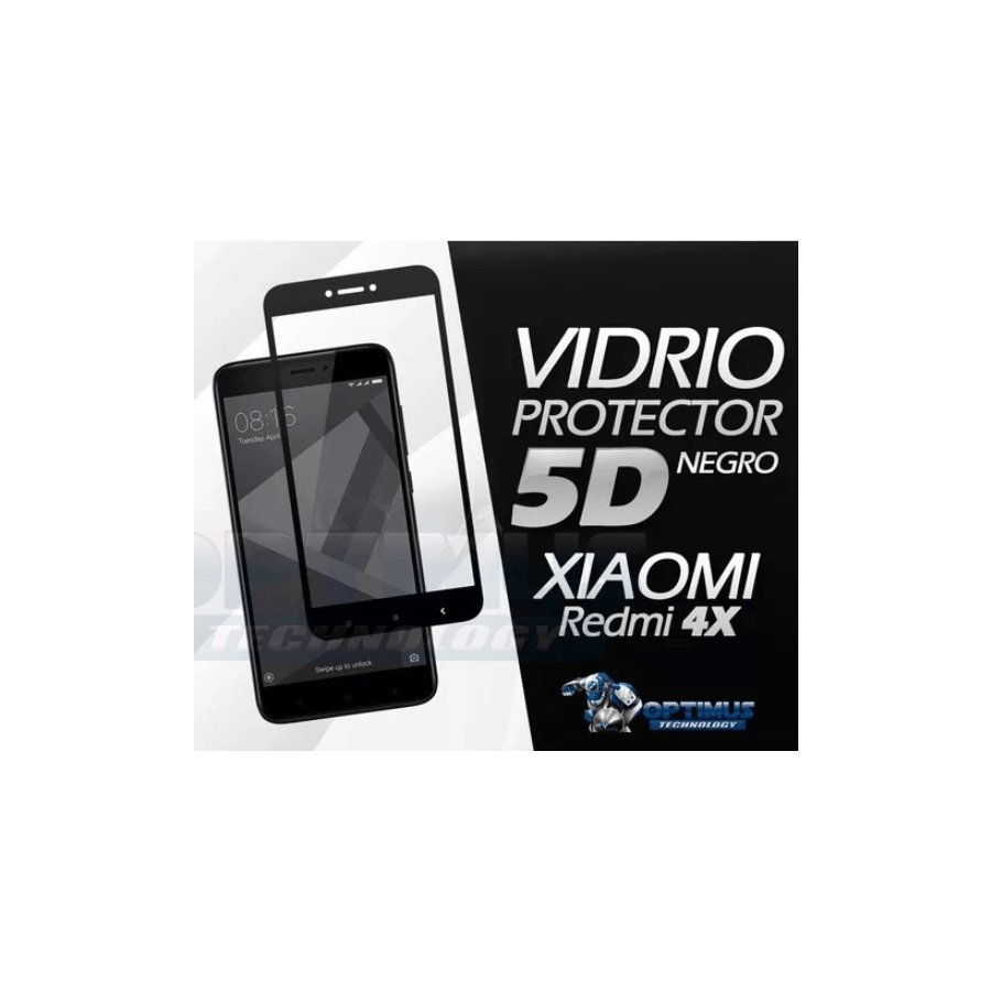 Vidrio Templado Cubre Toda La Pantalla Xiaomi Redmi 4x