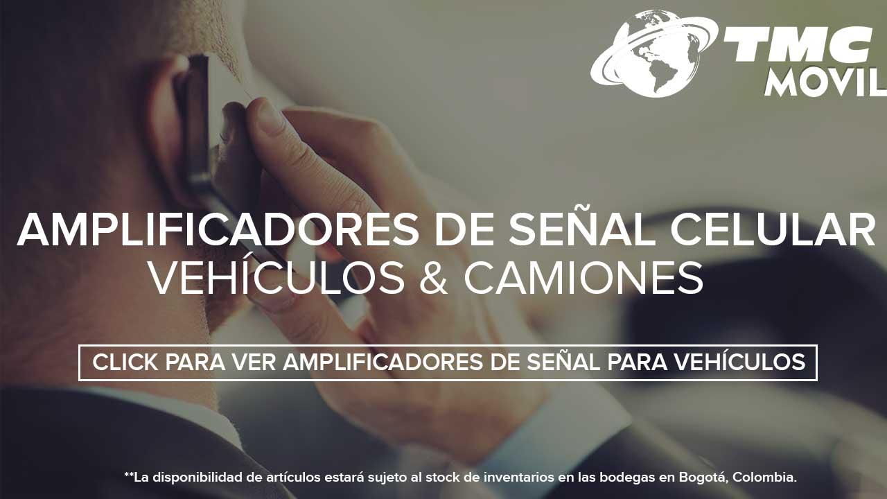 Amplificadores de señal celular para vehiculos Bogota